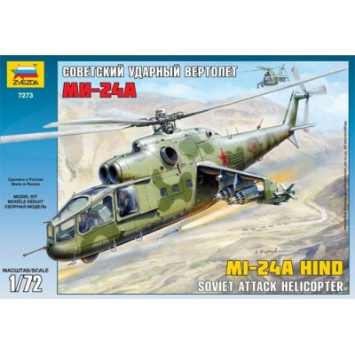MIL MI-24 A HIND escala 1/72 ZVEZDA 7273