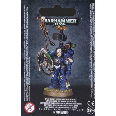 SPACE MARINES CAPITAN SEÑOR DE LAS RELIQUIAS