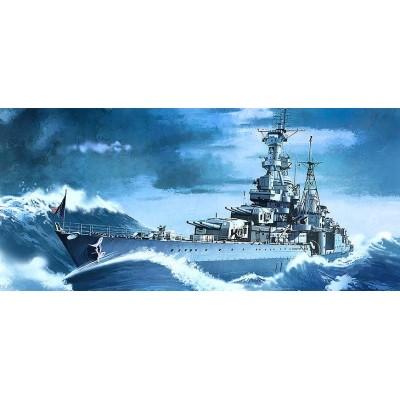 CRUCERO U.S.S. INDIANAPOLIS CA-35 -Escala 1/350 - Academy 14107