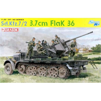 SEMIORUGA SD.KFZ. 7/2 Y CAÑON FLAK-36 (37 mm)