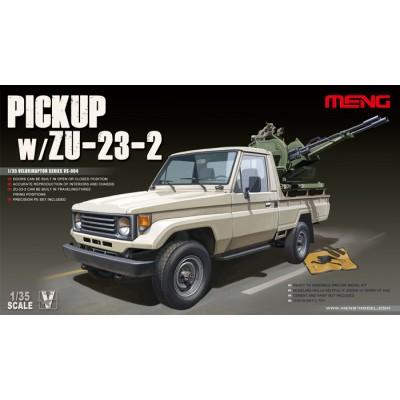 PICK UP & CAÑON ANTIAEREO ZU-23-2 -Escala 1/35- Meng Model VS004