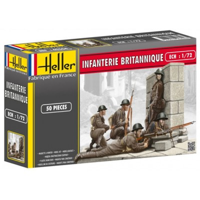 INFANTERIA BRITANICA 1.944 (50 figuras) -Escala 1/72- Heller 49604