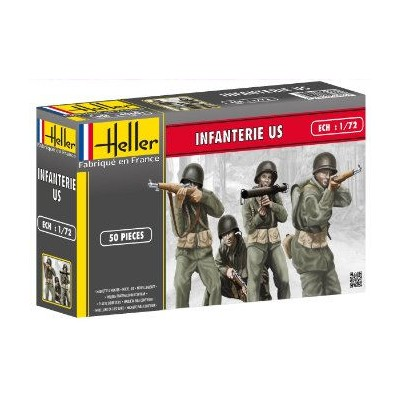 INFANTERIA U.S. ARMY 1.944 (50 figuras)