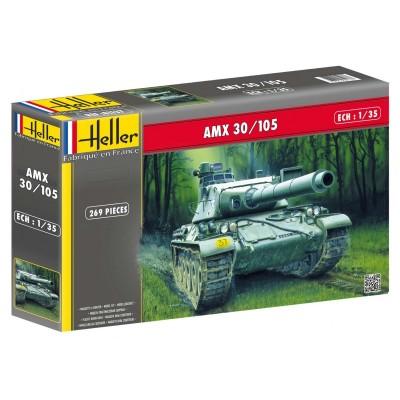 CARRO COMBATE AMX 30/105 - Heller 81137