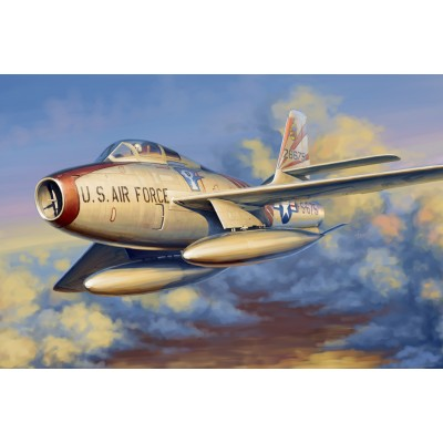 REPUBLIC F-84 F THUNDERSTREAK ESCALA 1/48 - Hobby Boss 81726