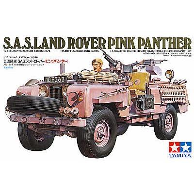 LAND ROVER 109 S.A.S. PINK PANTHER -Escala 1/35- Tamiya 35076