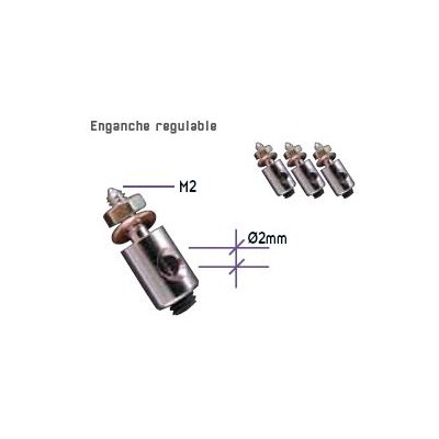 ENGANCHE REGULABLE (4 unidades)