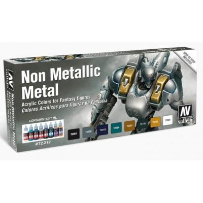 SET COLORES NON METALLIC METAL (8 botes)