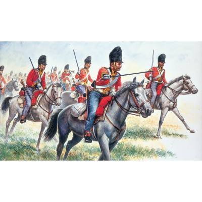 CABALLERIA BRITANICA, SCOTS GREYS 1.815 (18 figuras) 1/72