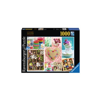 PUZZLE 1000 PZAS DULCES COLORIDOS, Howard Shooter Studios (700 x 500 mm)