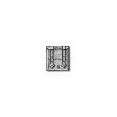 MARCO TRONERA DE CAÑON C/PUERTA (13 x 13 mm) 3 unidades