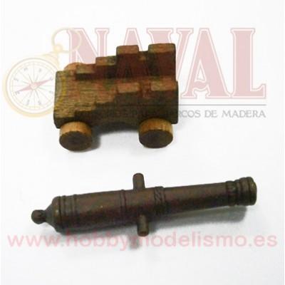 CAÑON CUREÑA MADERA 40 mm