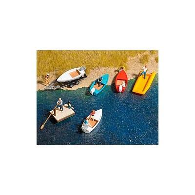 SET DE BOTES Y CANOAS 1/87