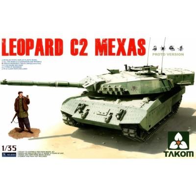 CARRO DE COMBATE LEOPARD C2 MEXAS