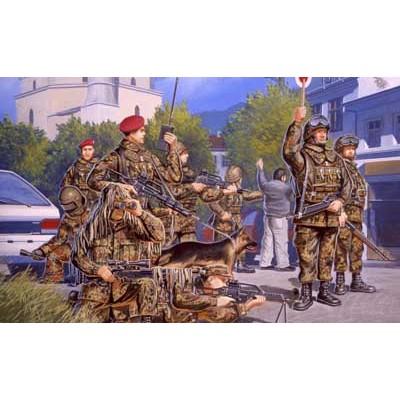 GERMAN TASK FORCE SFOR/KFOR