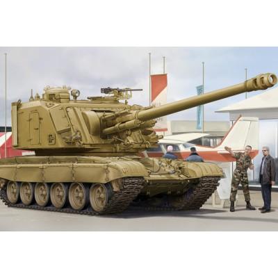 CAÑON AUTOPROPULSADO GCT 155 AU-F1 Y CHASIS T-72