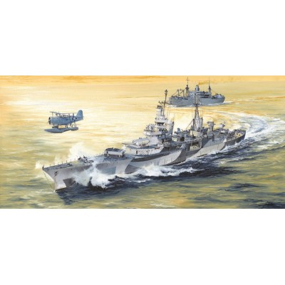 CRUCERO U.S.S. INDIANAPOLIS CA-35 (1.944) 1/350