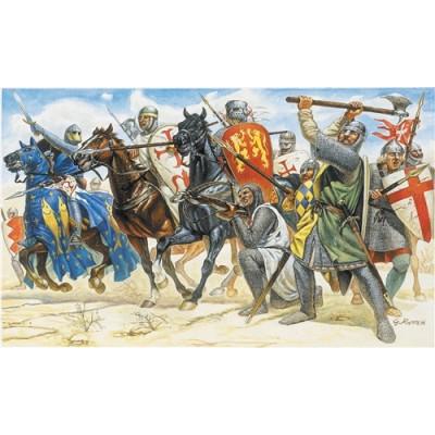 CABALLEROS CRUZADOS -1/72 - (34 figuras) Italeri 6009