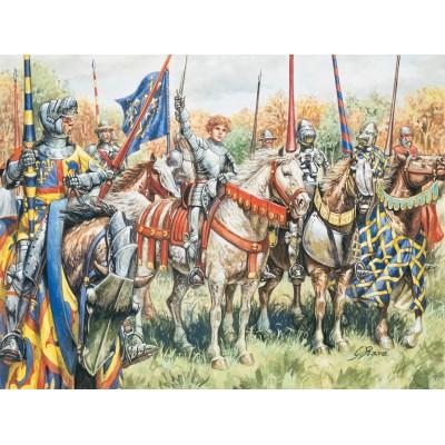 GUERREROS FRANCESES (Guerra de los 100 años) - Italeri 6026