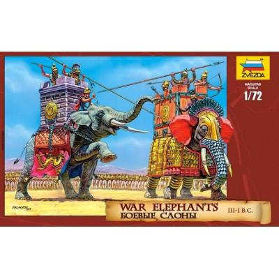 ELEFANTES DE GUERRA CARTHAGINESES (Siglo III-I A.C.)