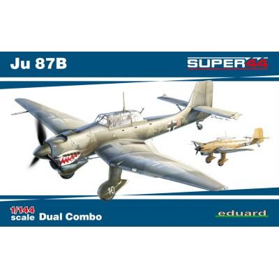 JUNKERS JU-87 B STUKA (2 unidades) C/ESP - Eduard 4431