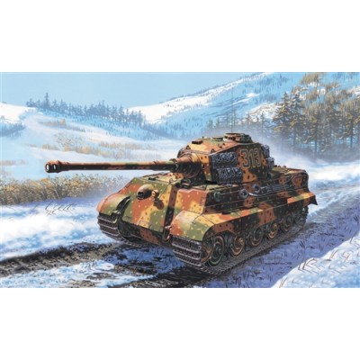 CARRO DE COMBATE SD.KFZ. 182 KING TIGER - Italeri 7004