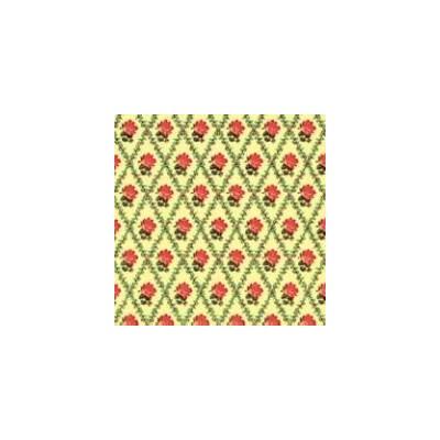 PAPEL PARED RACHEL ROSA/CREMA (300 x 420 mm)
