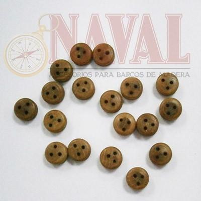 VIGOTA DE NOGAL 7 mm (18 unidades) - Naval 405007