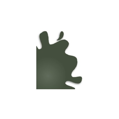 PINTURA ACRLICA BRILLANTE VERDE OSCURO (10 ml) - Hobby Color H-36