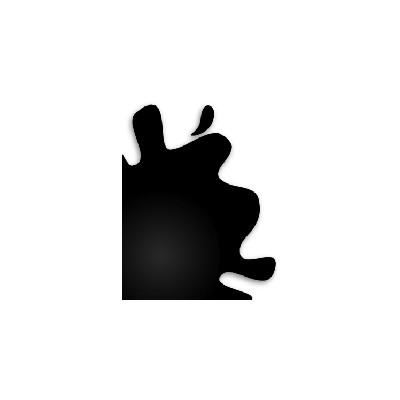 PINTURA ACRILICA BRILLANTE NEGRO (10 ml) - Hobby Color H-2