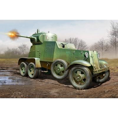 CAMION BLINDADO BA-3 (Sovietico)