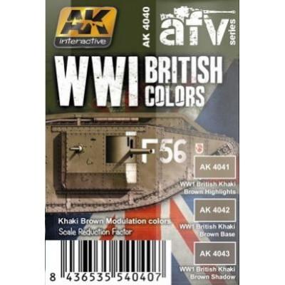 AFV series: CARROS BRITANICOS 1ª G.M.