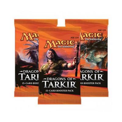 MAGIC SOBRE DRAGONES DE TARKIR (15 CARTAS)