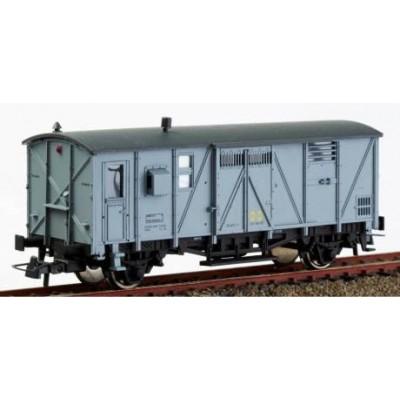 FURGON con departamento Jefe de Tren DV-340164 GRIS inscripciones en negro