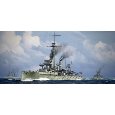 ACORAZADO H.M.S. DREADNOUGHT 1915 1/700 - Trumpeter 06705