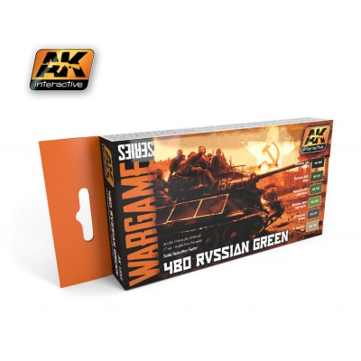 WARGAME SERIES: 4BO RUSSIAN GREEN (6 BOTES 17ml)