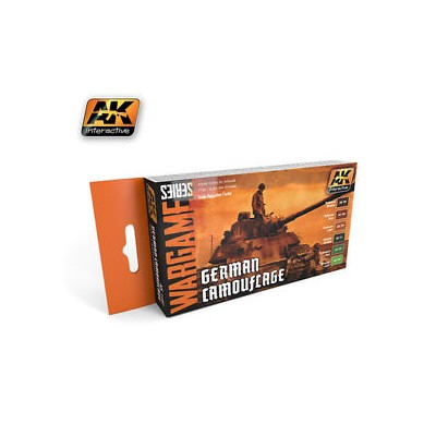 WARGAME SERIES: GERMAN CAMOUFLAGE (6 BOTES 17ml)