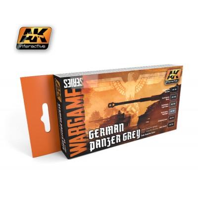 WARGAME SERIES: GERMAN PANZER GREY (6 BOTES 17ml)