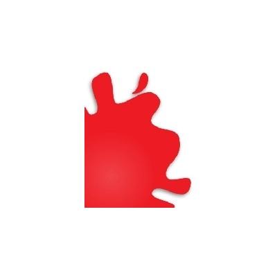PINTURA ACRILICA BRILLANTE ROJO (10 ml) - Hobby Color H-3