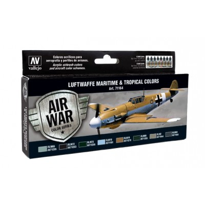 AIR WAR: LUFTWAFFE MARITIME Y TROPICAL COLORS
