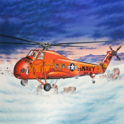 SIKORSKY UH-34D SEAHORSE -Escala 1/48- Trumpeter 02886