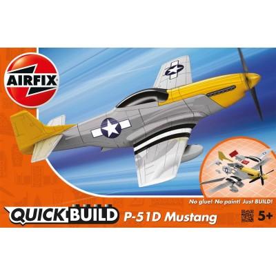 QUICKBUILD: NORTH AMERICAN P-51D MUSTANG Airfix J6016