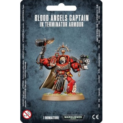 BLOOD ANGELS CAPITAN EXTERMINADOR