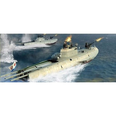LANCHA TORPEDERA G-5 (SOVIETICA) 1/35 - Merit-International 63503