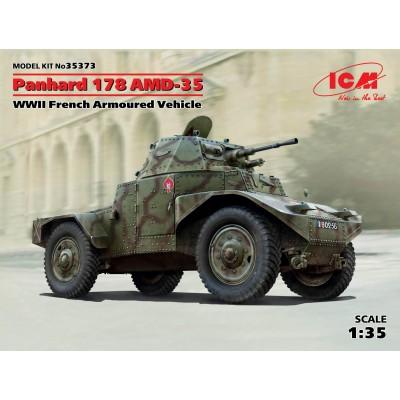 VEHICULO BLINDADO PANHARD 178 AMD-35 - ICM 35373