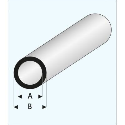 TUBO REDONDO (3 x 4 mm ) L: 330 mm Unidad
