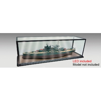 VITRINA PLASTICO LED (1250 x 340 x 385 mm) - Trumpeter 09840