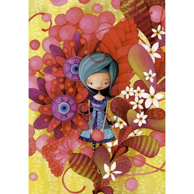 PUZZLE 1000 pzas. BLUE LADY, KETTO