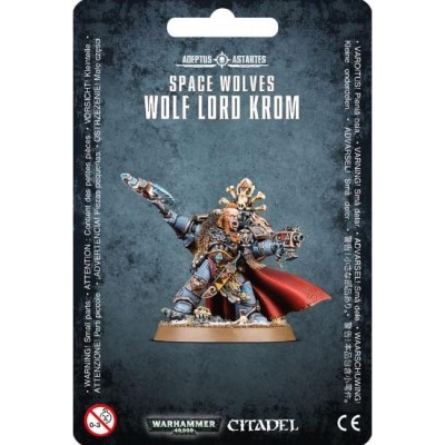 SPACE WOLVES LORD KROM