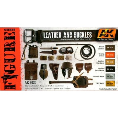FIGURE series: LEATHER AND BUCKLES (6 botes)